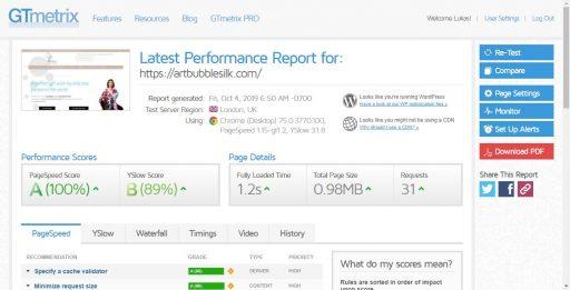 Rýchlosť 1,2 sekúnd a Google hodnotenie 100%? Aj to sa dá!