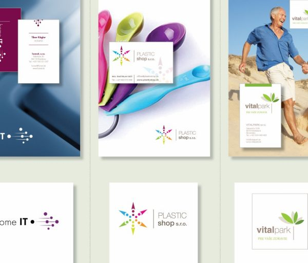 Logotypy + Vizitky