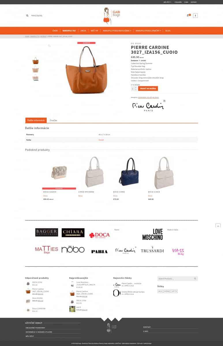 Eshop - móda - kabelky