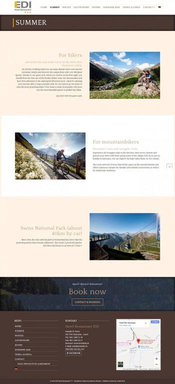 Webstránka pre Hotel - prezentácia +rezervačný systém 3
