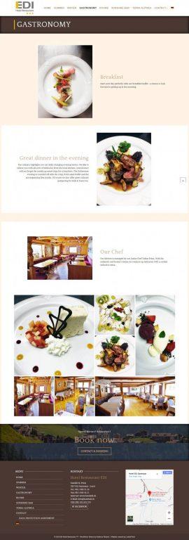 Webstránka pre Hotel - prezentácia +rezervačný systém 5