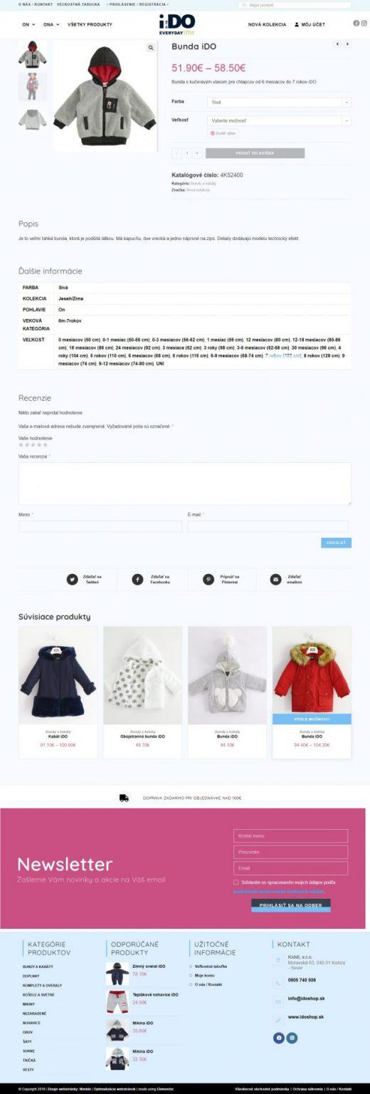 idoshop produkt