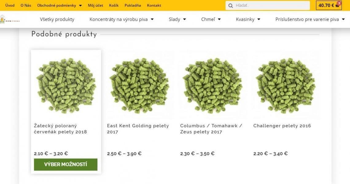 Eshop - Predaj potrieb pre výrobu piva 4