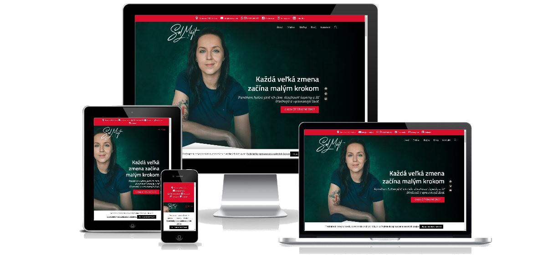 Služby koučky - portfólio webstránka 6